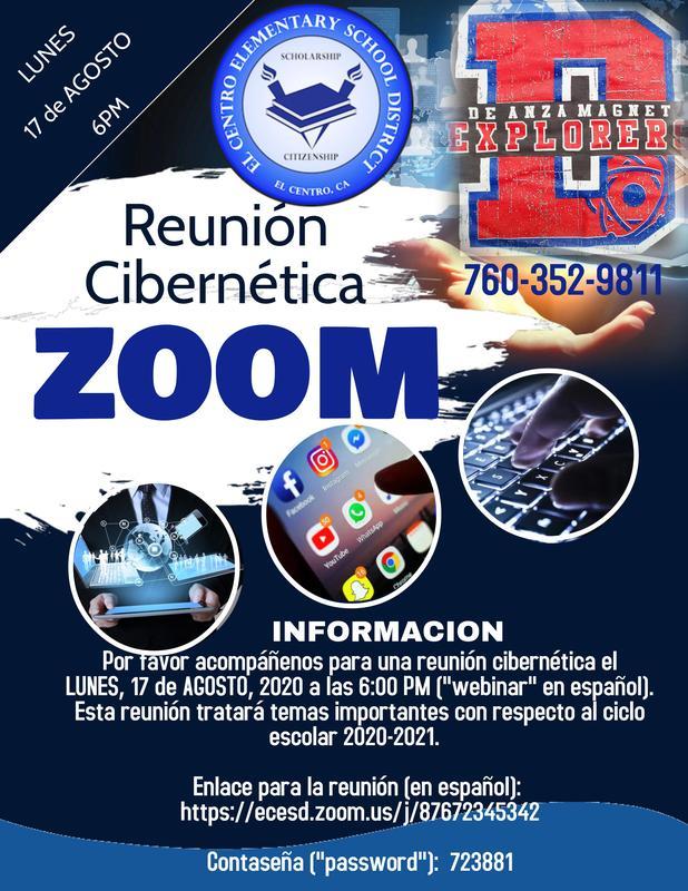 Reunión Cibernética para Padres Featured Photo