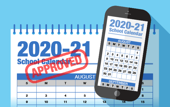 2021-22 School Calendar Approved by Board Featured Photo