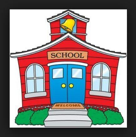 little red school house clipart