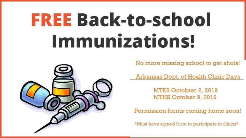 MTSD Offering Back to School Immunizations! Featured Photo