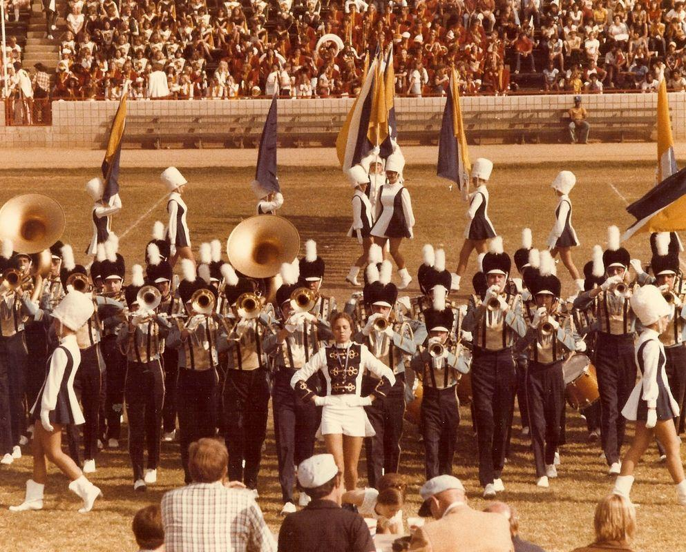 Older pic of band field show