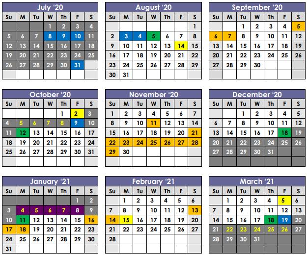 Calendar Part 1