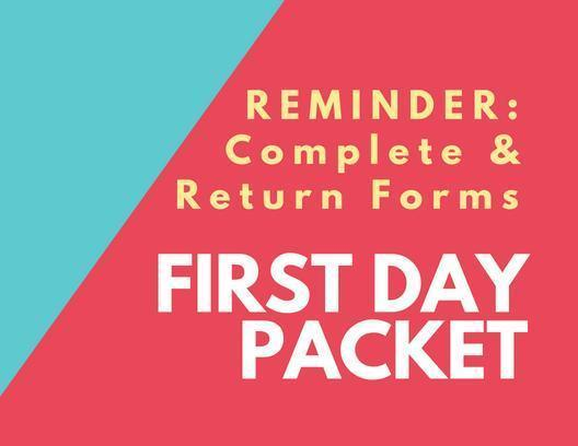 RHS First Day Packets