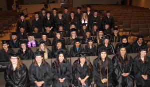 TEAM School graduating class