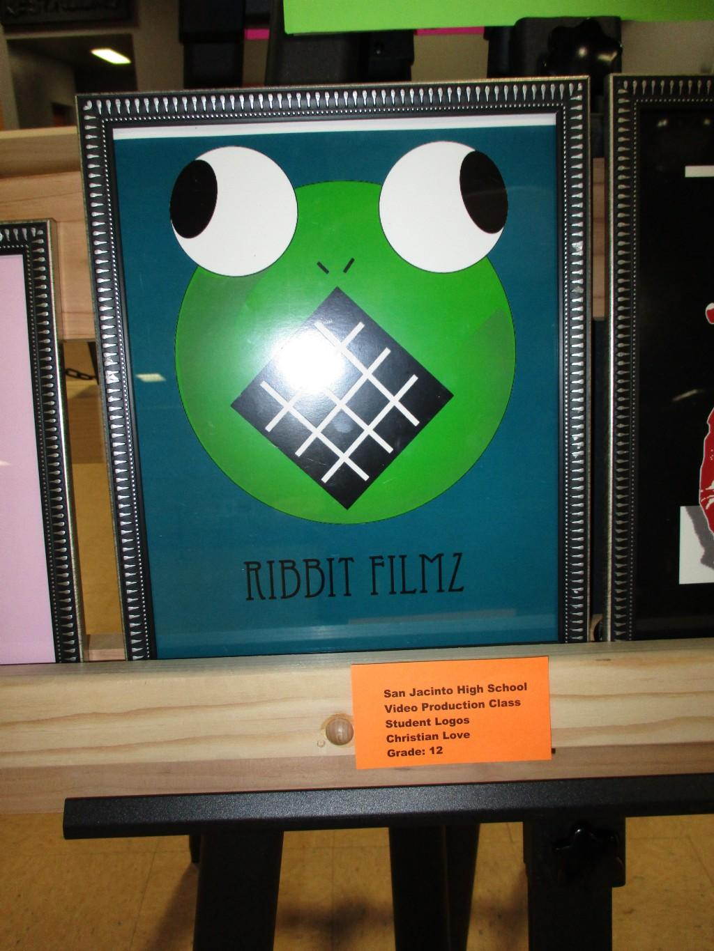 Student artwork of Ribbit Filmz
