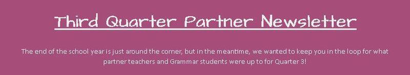K-4th Partner Newsletter Featured Photo