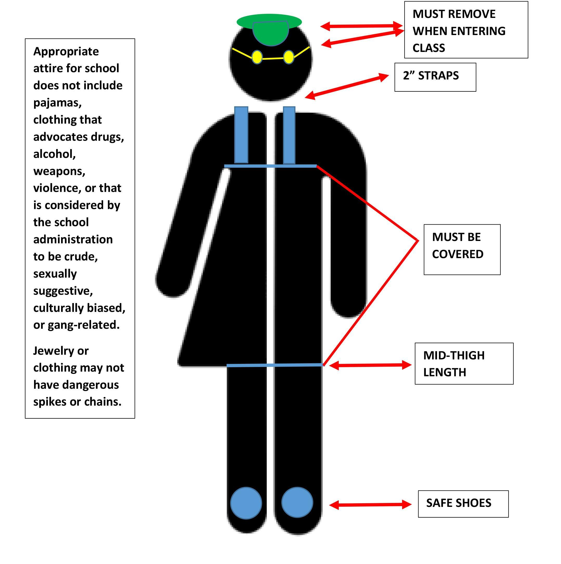 Dress Code Diagram