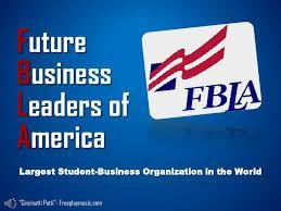 FBLA logo used as a hot link to the FBLA national website