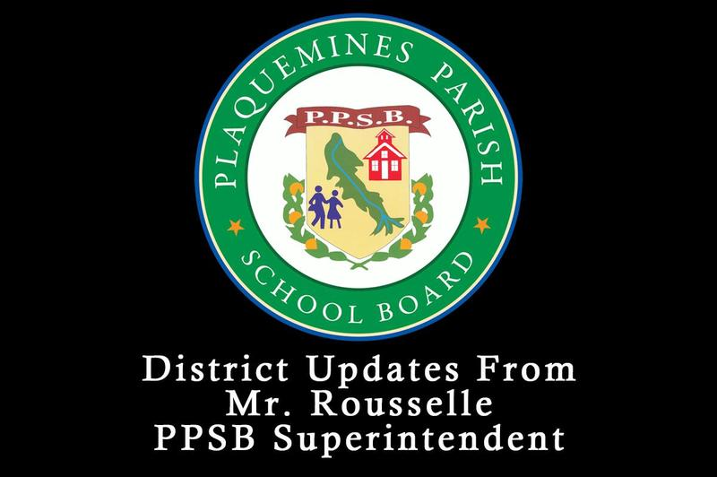 Updates from Superintendent Rousselle Thumbnail Image