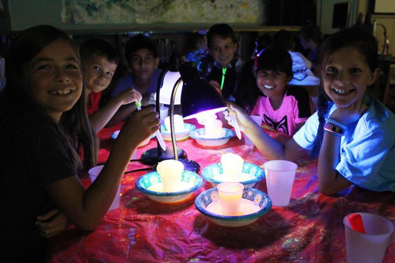 Glow-in-the-Dark art camp