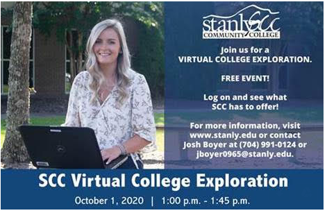 Join us for a Virtual College Exploration!!  Free Event! Featured Photo
