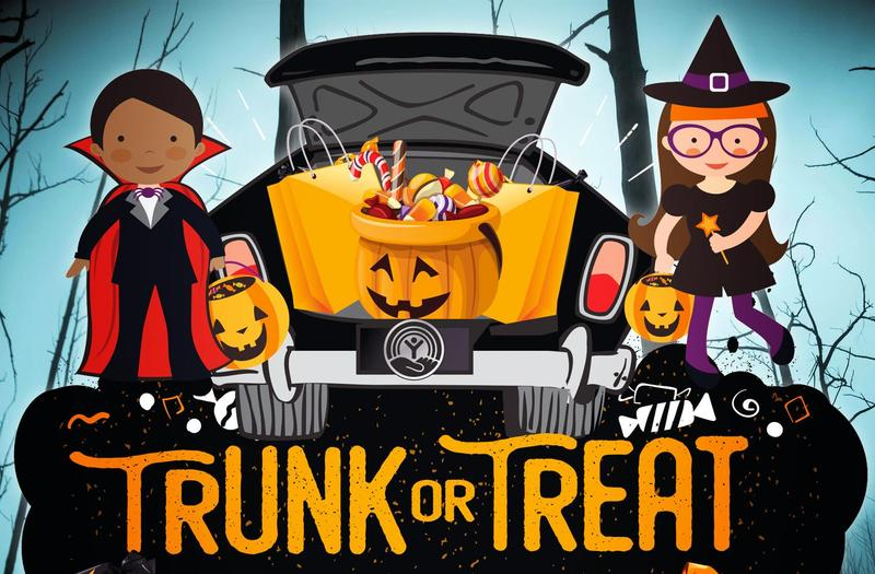 Trunk-or-Treat on October 26 at 4:00 PM