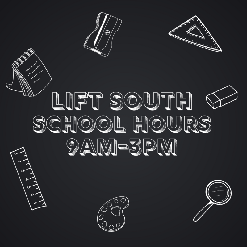 LIFT South School Hours Featured Photo