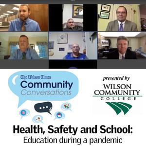 The panelists included Wilson Community College President Tim Wright, Barton College President Doug Searcy, The SPOT/Wilson Youth United Director Matt Edwards, WCS Superintendent Lane Mills and Wilson County Board of Education Member Rhyan Breen.