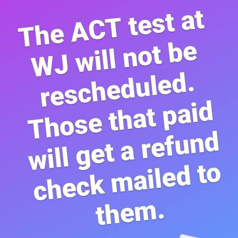 ACT Test Update
