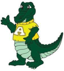 Picture of Allen Alligator Mascot