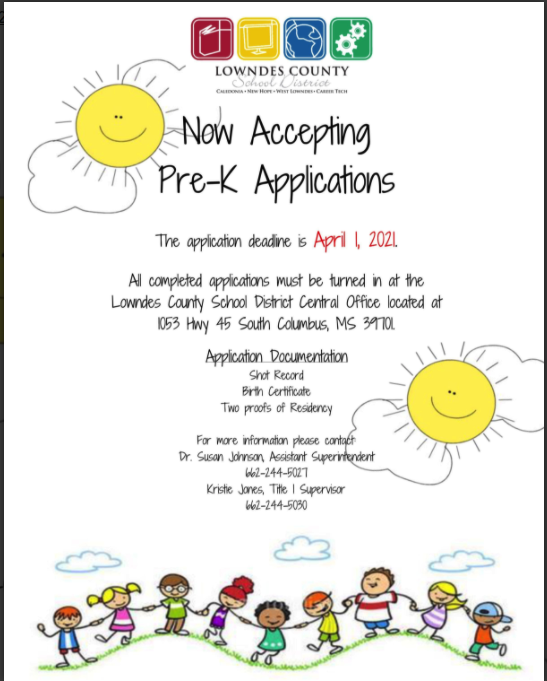 Pre-K Application