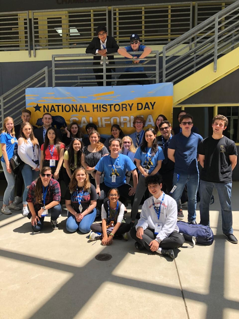 National History Day CA Group Photo