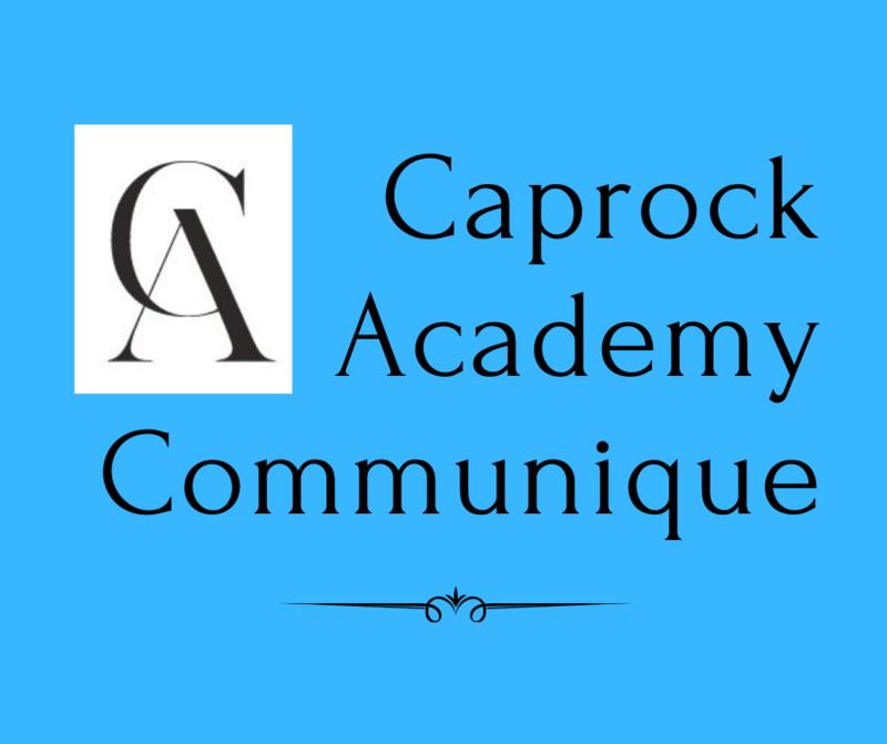 Latest Caprock Communique