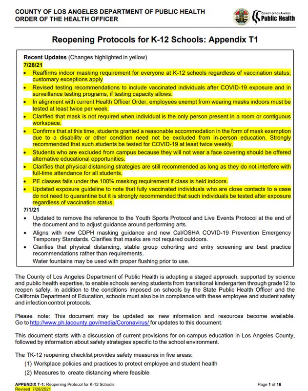 COVID-19 Exposure Management Plan