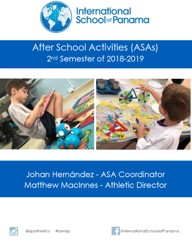 ASA Booklet available for Semester 2 Featured Photo