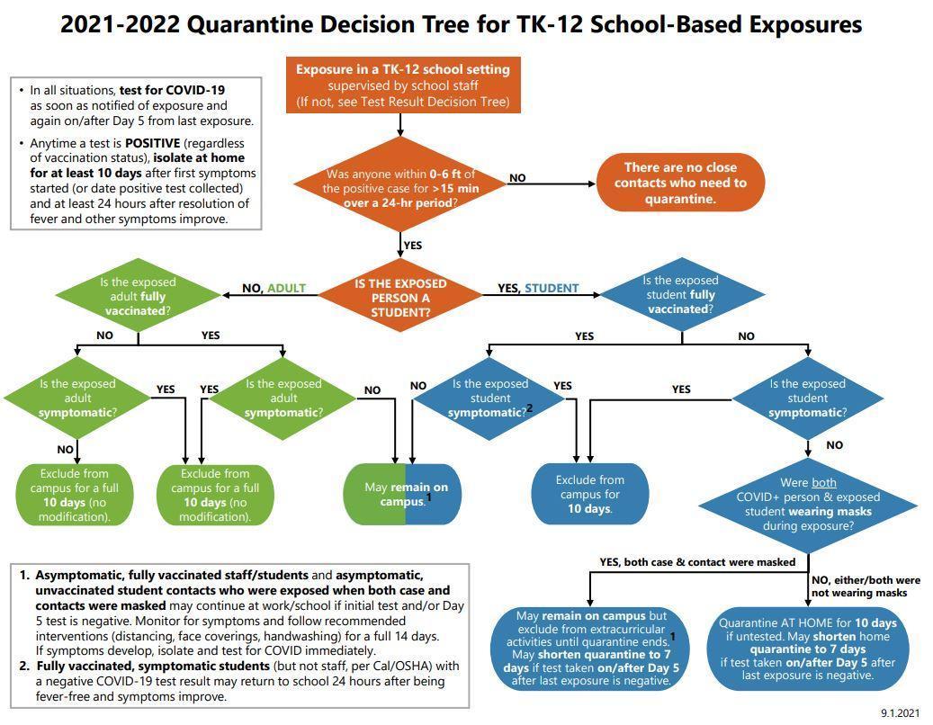 Quarantine Decision Tree