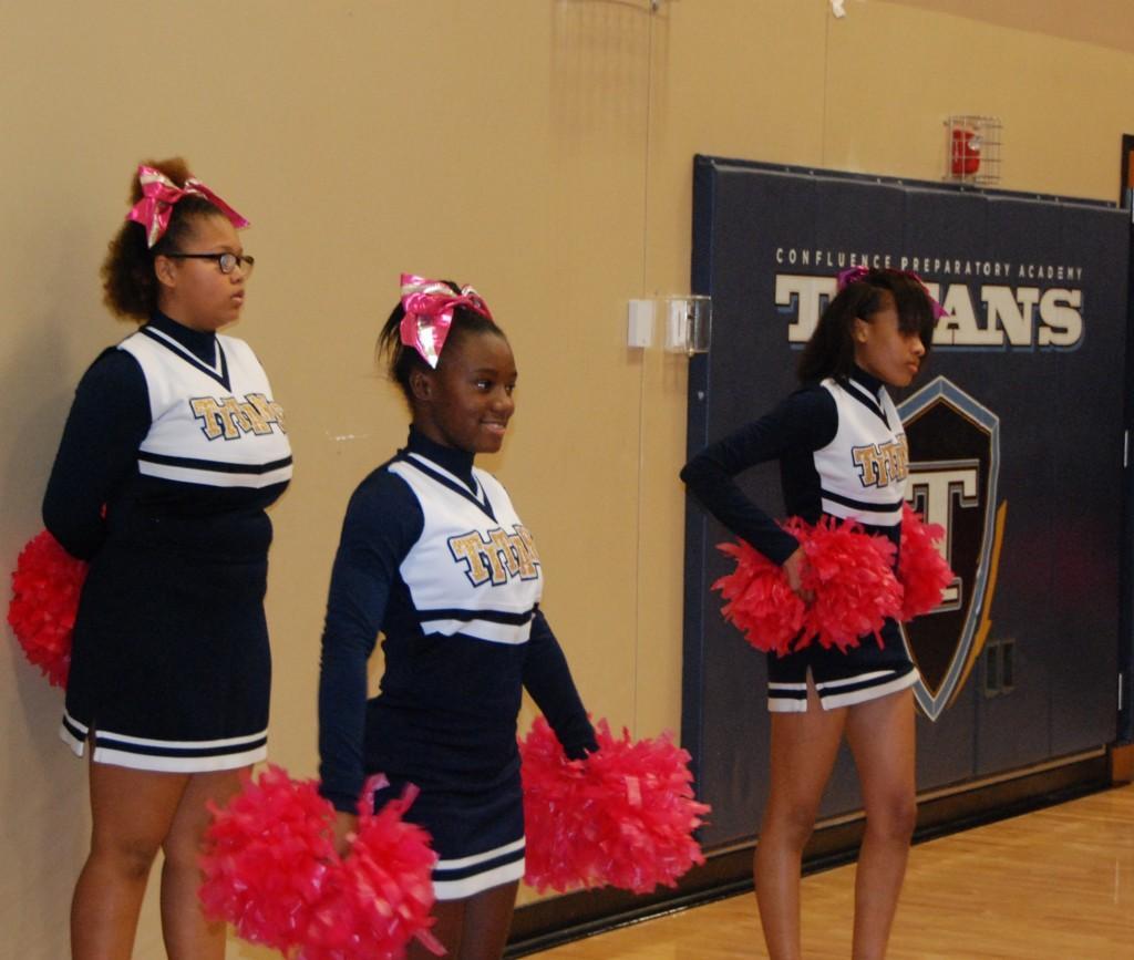 CPA Titans cheerleaders