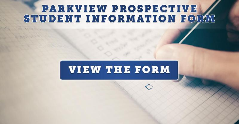 Parkview Prospective Student Information Form