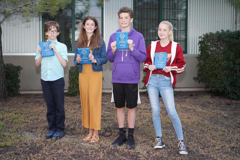 2019 Spelling Bee 1st place winners