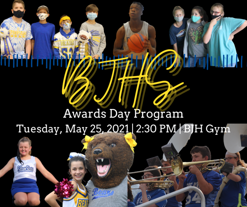 Awards Day Program - May 25 Featured Photo