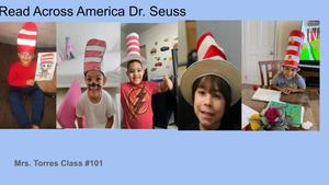 Students wearing hats collage