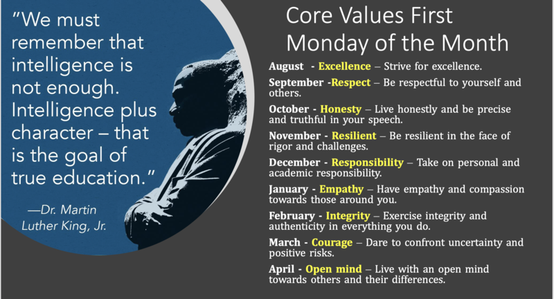 VALUE OF THE MONTH FOR OCTOBER - HONESTY Featured Photo