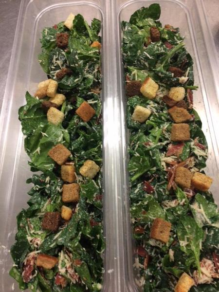 Spinach Salad - locally grown