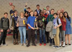 SBMS UIL Academic 2nd place winners