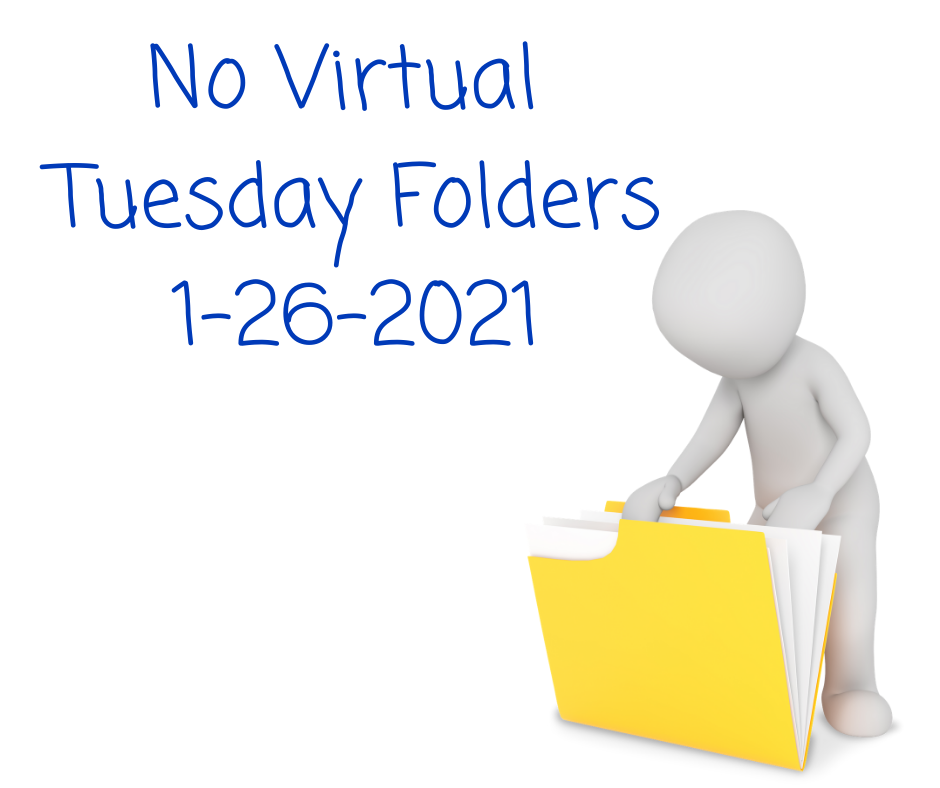 No Tuesday Folders Today