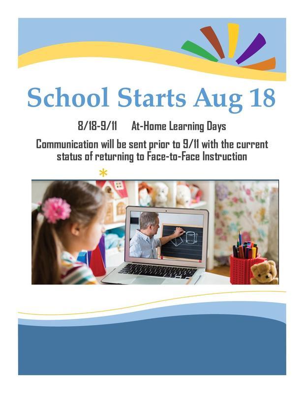 School Starts 8/18