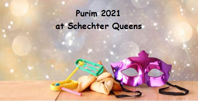 Purim 2021 at Schechter Queens Featured Photo