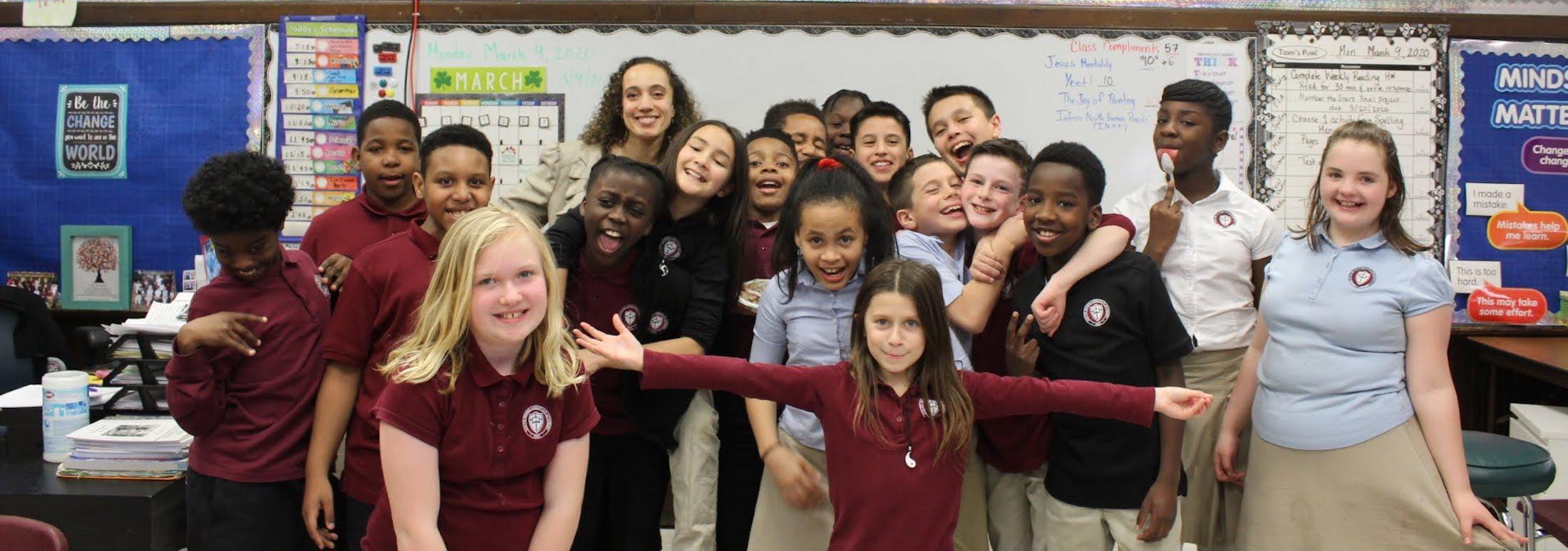 Grade 5 class