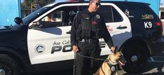 San Gabriel Police Department - K-9 Unit Education Visit
