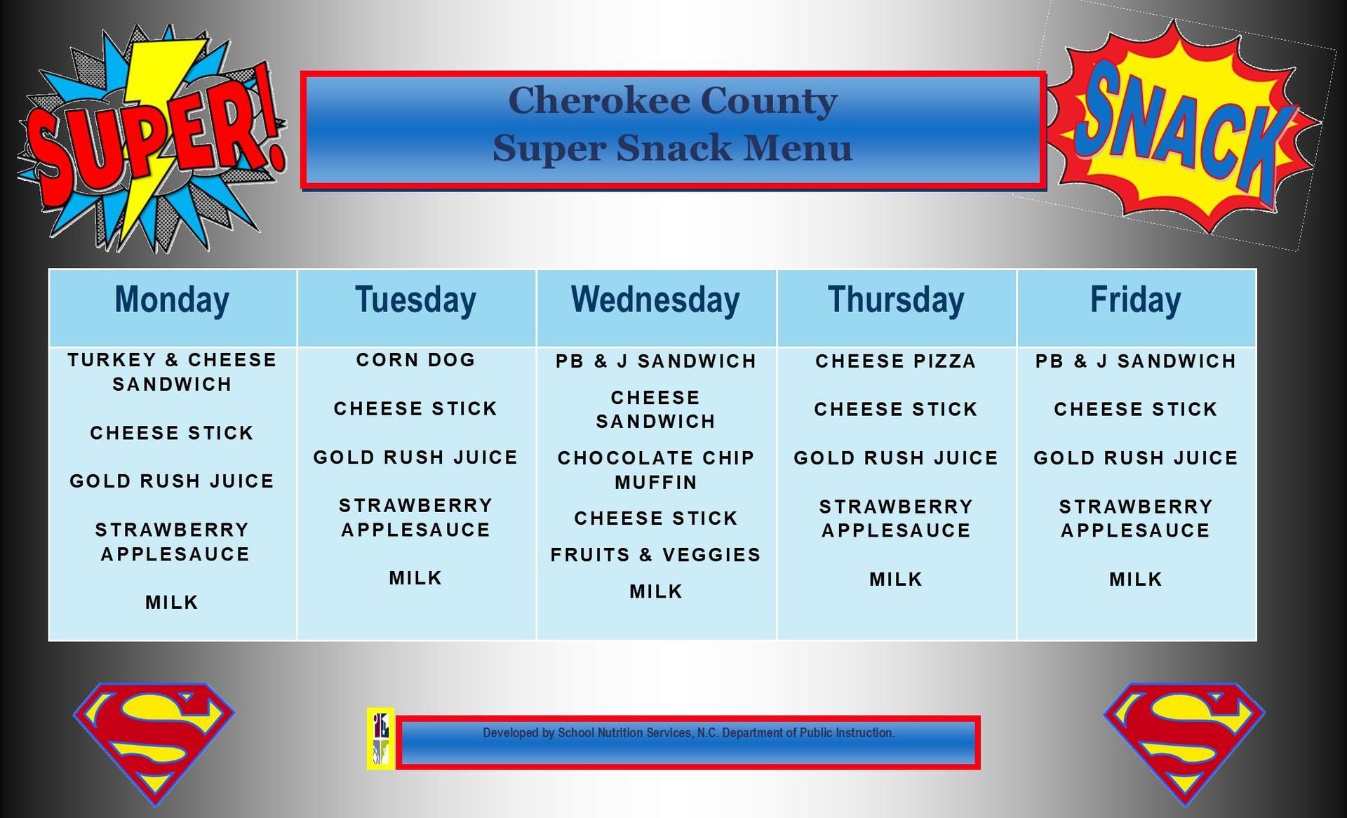 March 2021 Super Snack