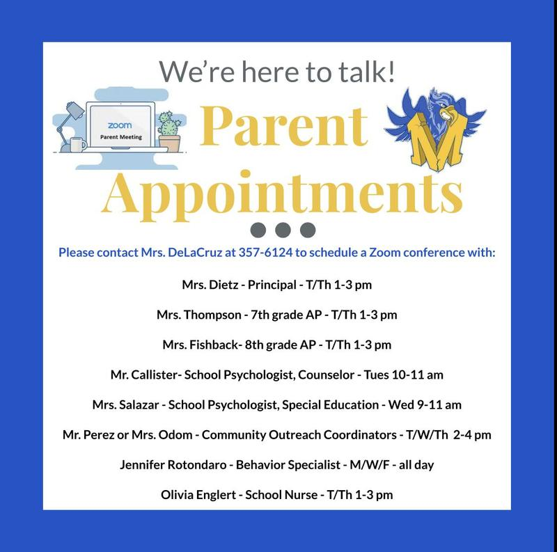 Parent Appointments