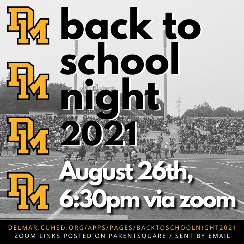 back to school night on august 26 2021