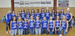 B-U Middle's Girls Basketball Team