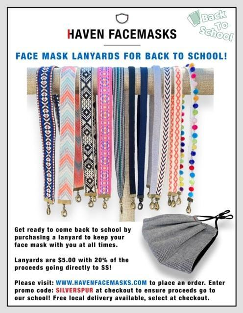 Face Mask Lanyards for Back to School Thumbnail Image