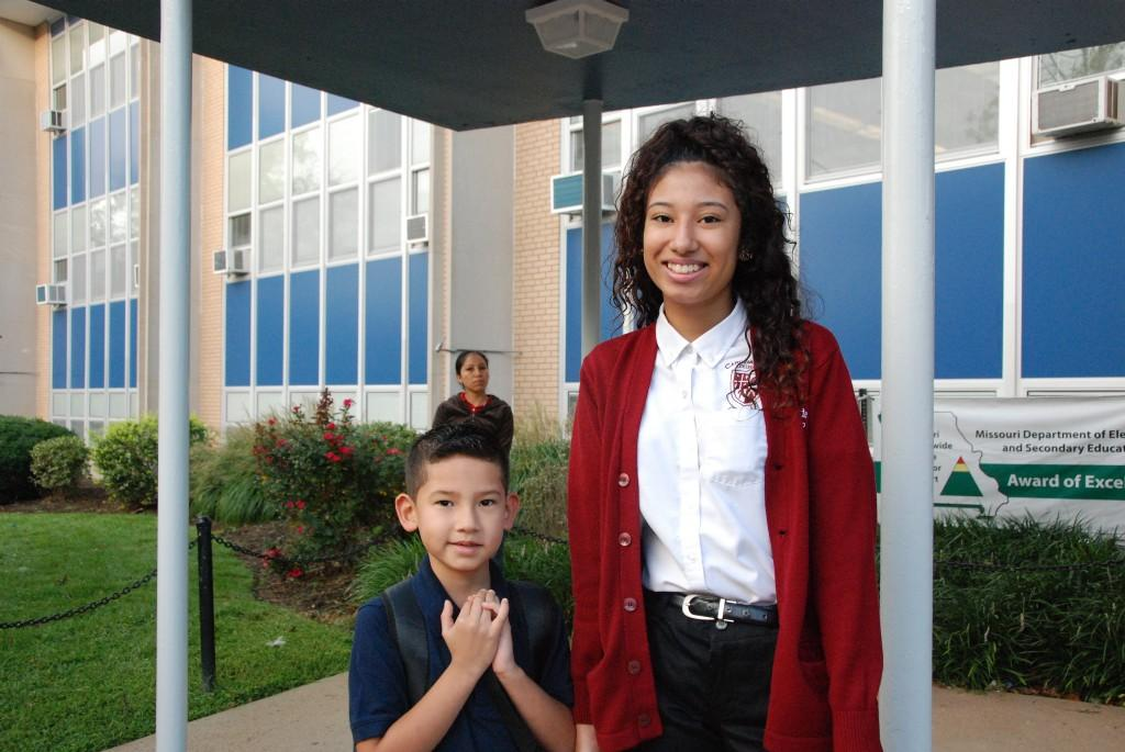 First day of school smiles, South City, 2016-17