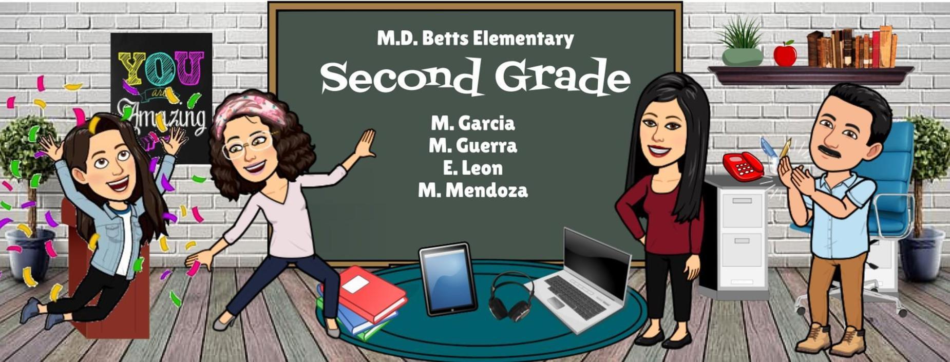 Image of Second Grade staff