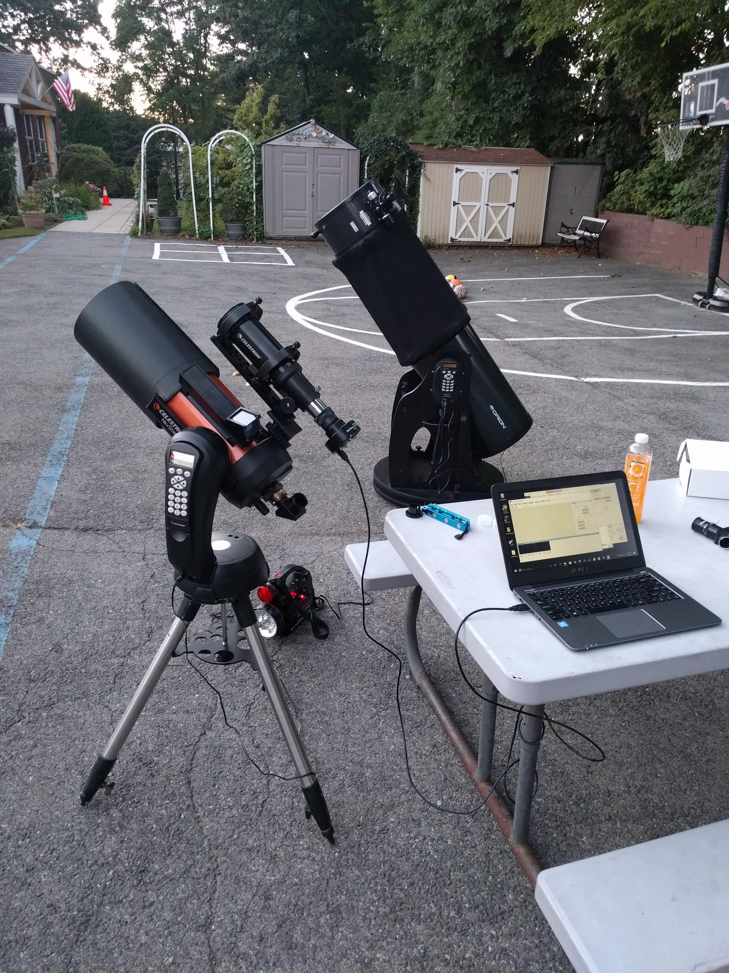 Photo: Telescopes