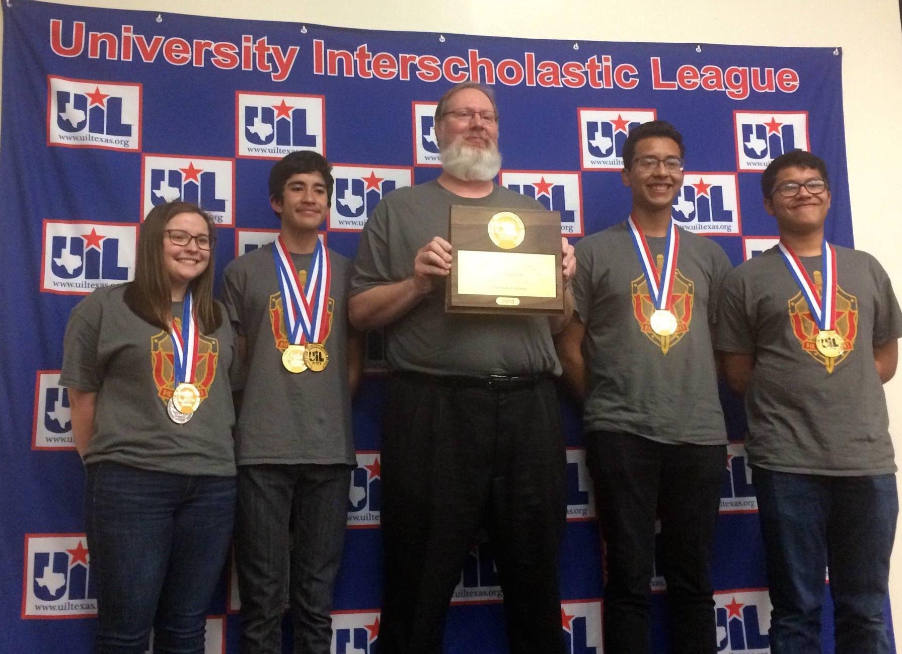 State Champions 2018 UIL Social Studies