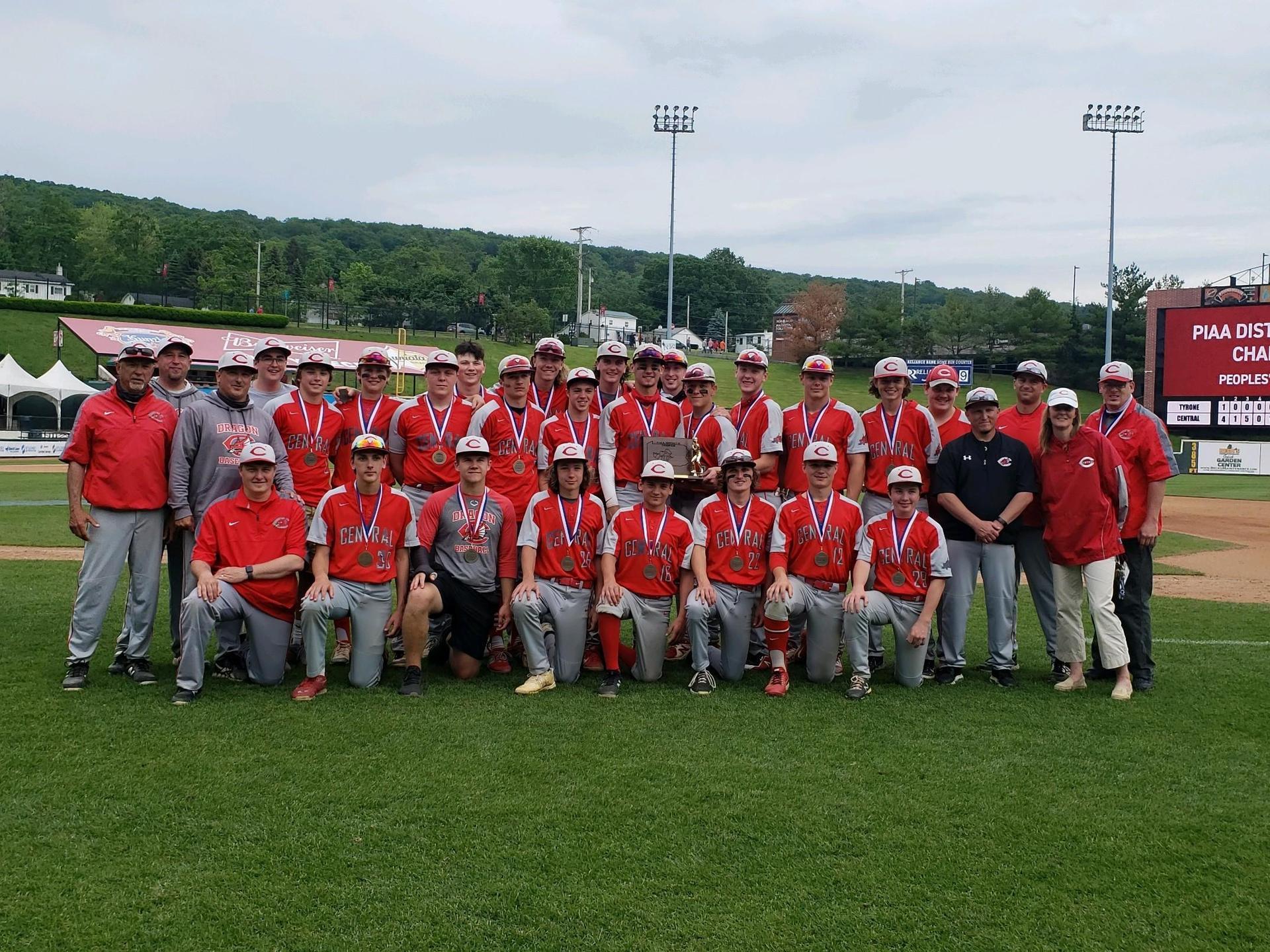 2021 District 6 3A Baseball Champions 6.2.21