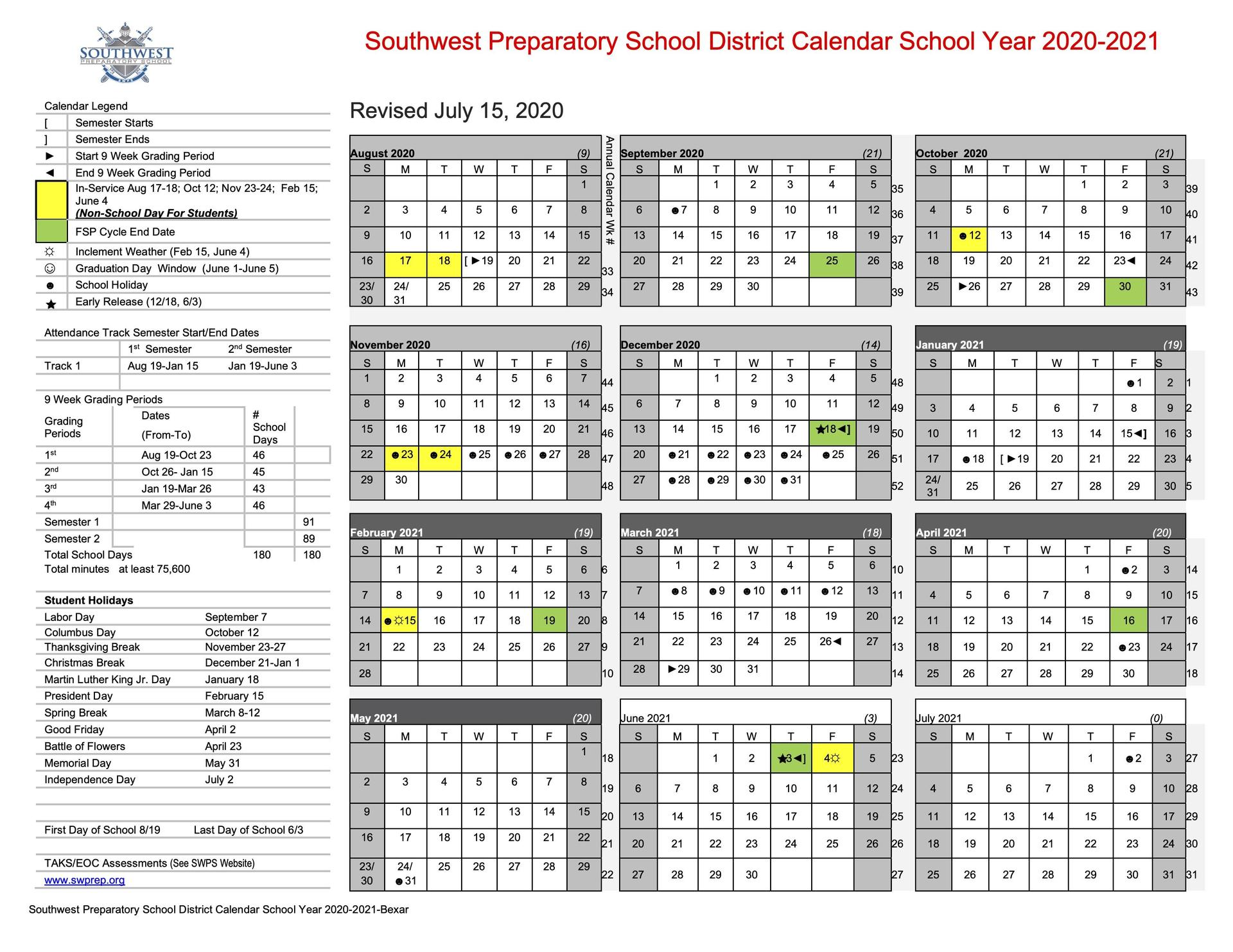 Neisd 2021-2022 Calendar San Antonio School Calendars and COVID Resources, Updated for 2020